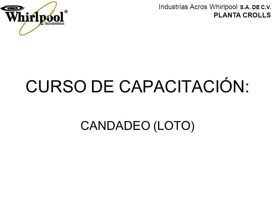 CURSO DE CAPACITACIÓN: