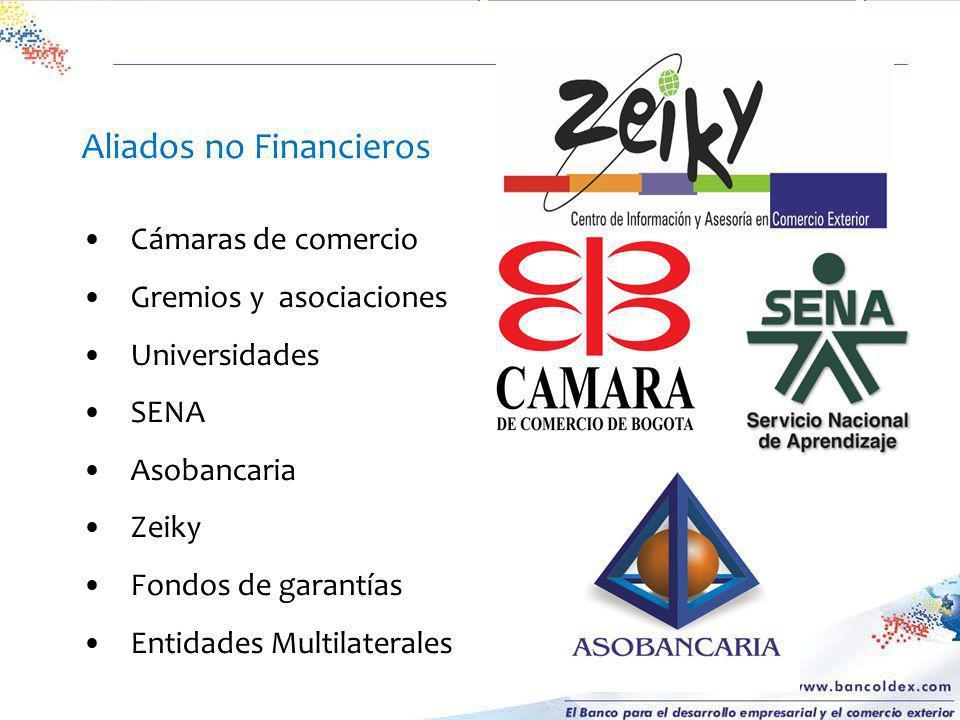 Aliados no Financieros