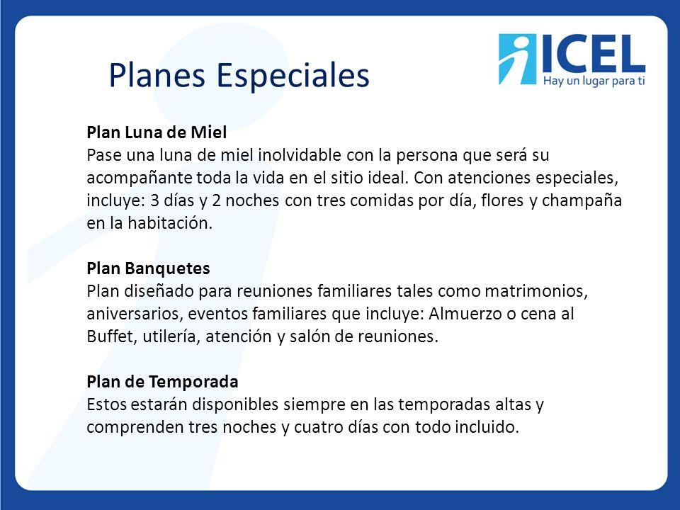 Planes Especiales