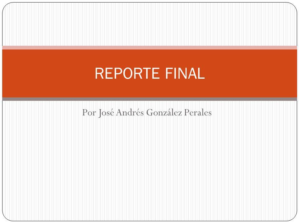 Por José Andrés González Perales