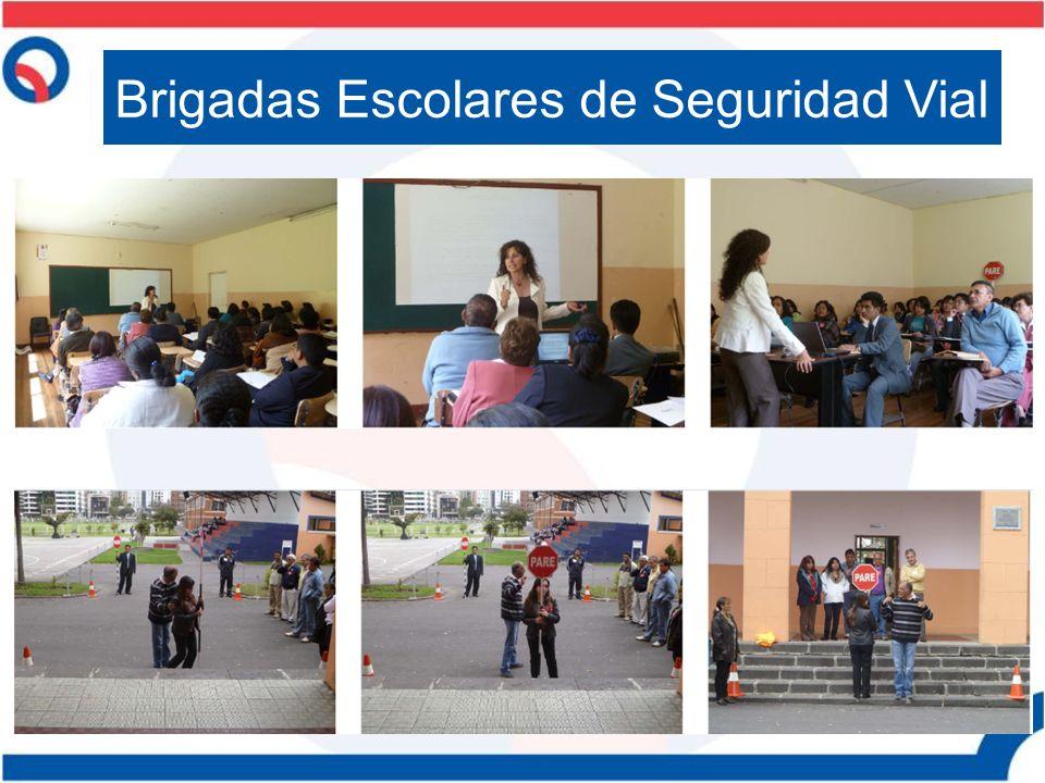 Brigadas Escolares de Seguridad Vial