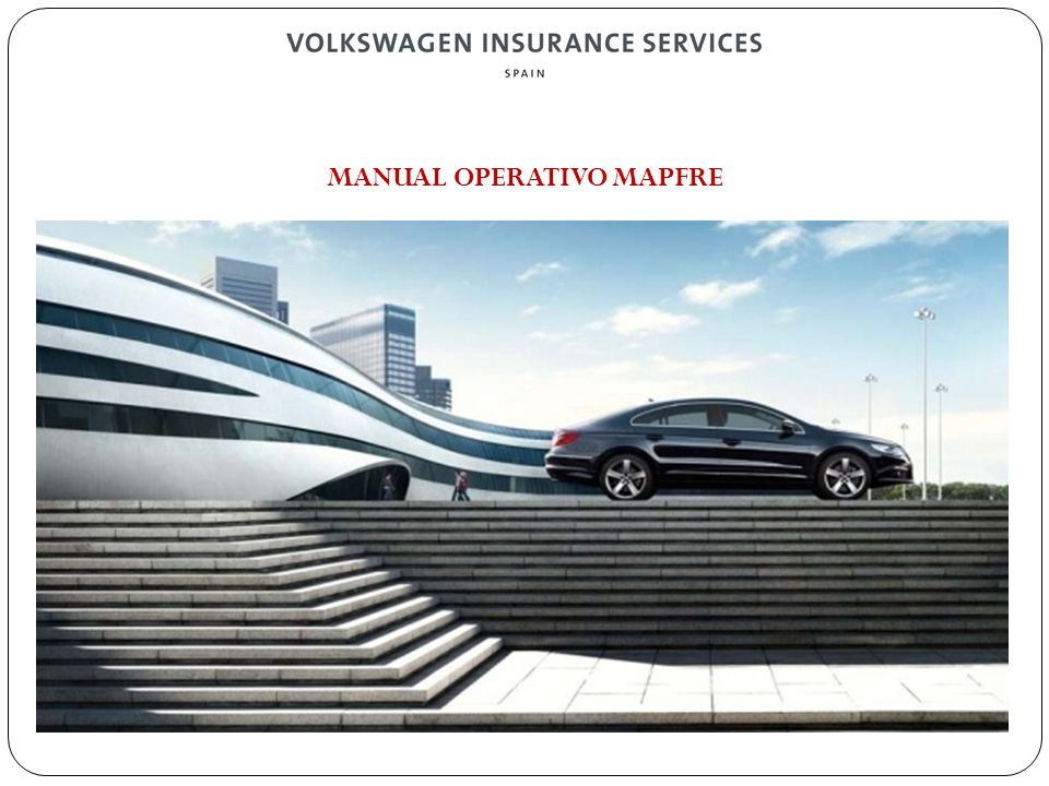 MANUAL OPERATIVO MAPFRE