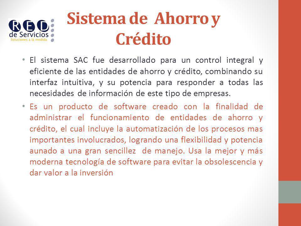 Sistema de Ahorro y Crédito