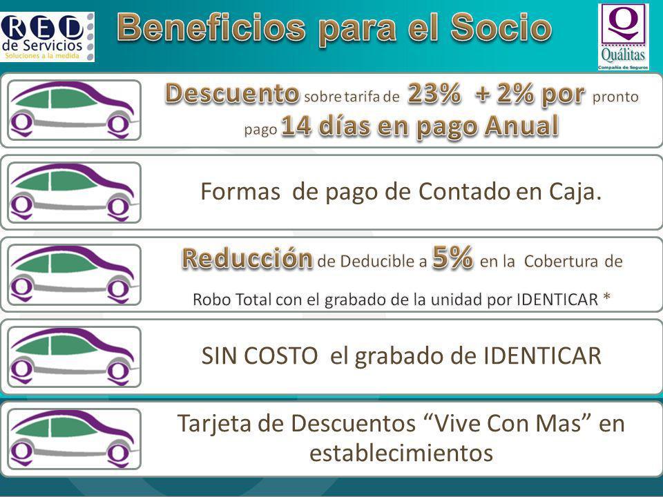 Beneficios para el Socio
