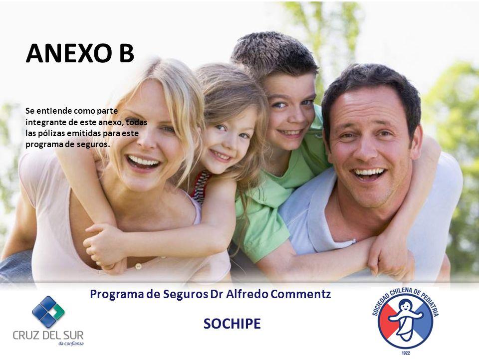 ANEXO B SOCHIPE Programa de Seguros Dr Alfredo Commentz