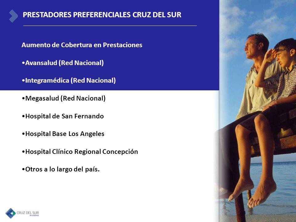PRESTADORES PREFERENCIALES CRUZ DEL SUR