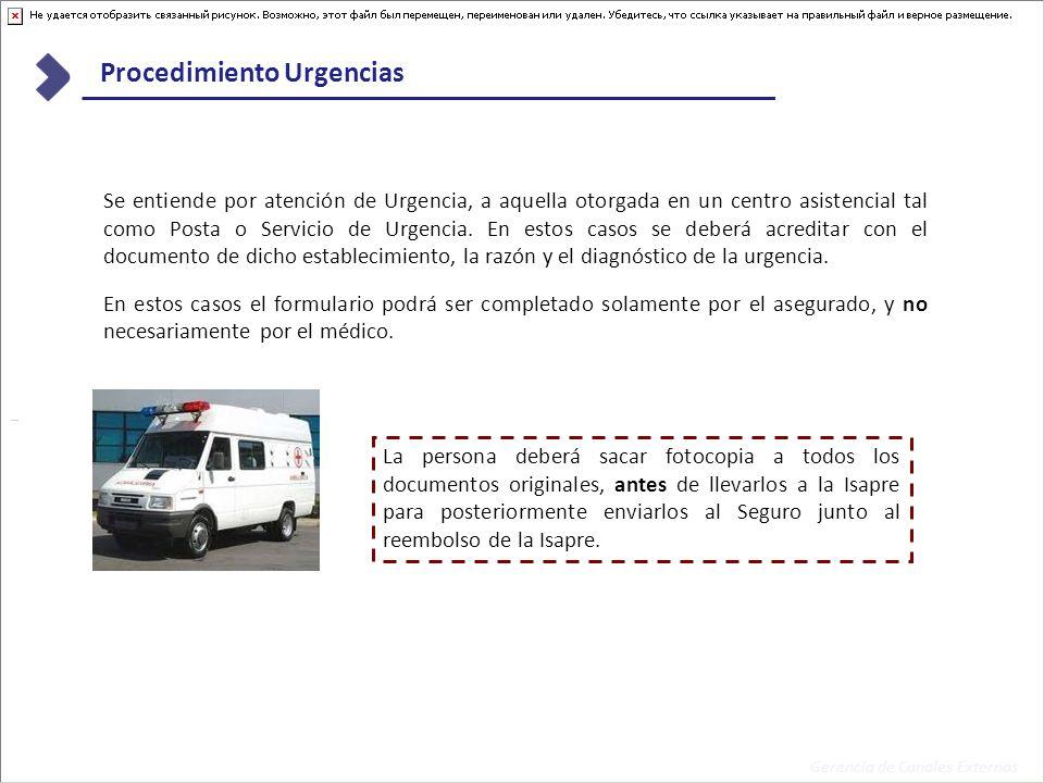 Procedimiento Urgencias