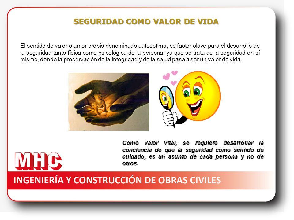 SEGURIDAD COMO VALOR DE VIDA