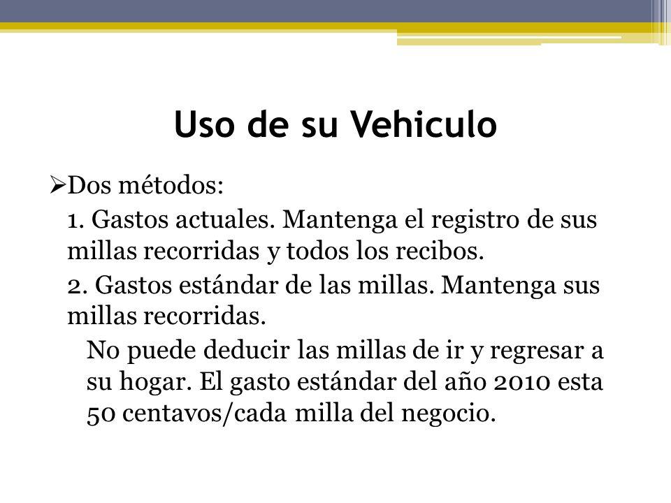 Uso de su Vehiculo Dos métodos: