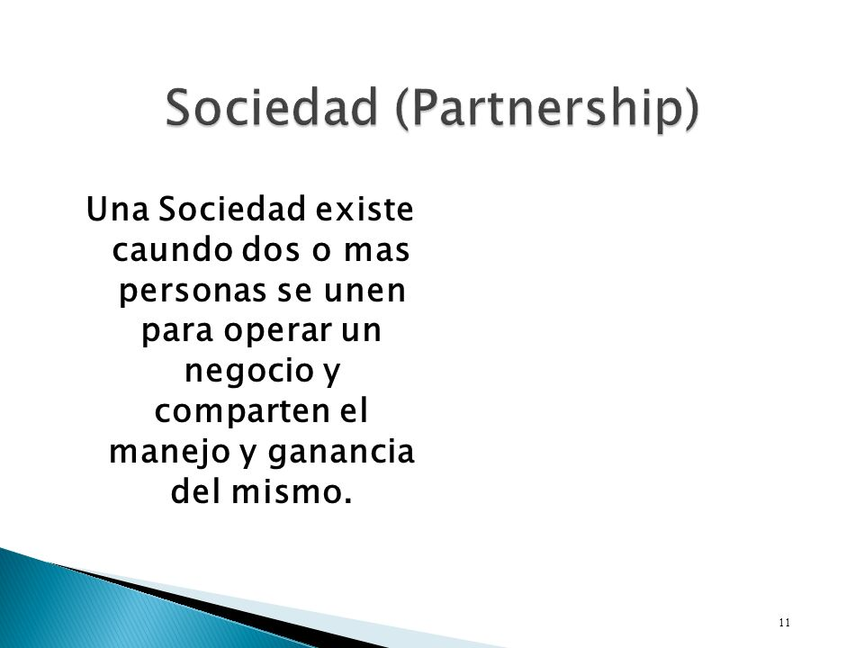 Sociedad (Partnership)