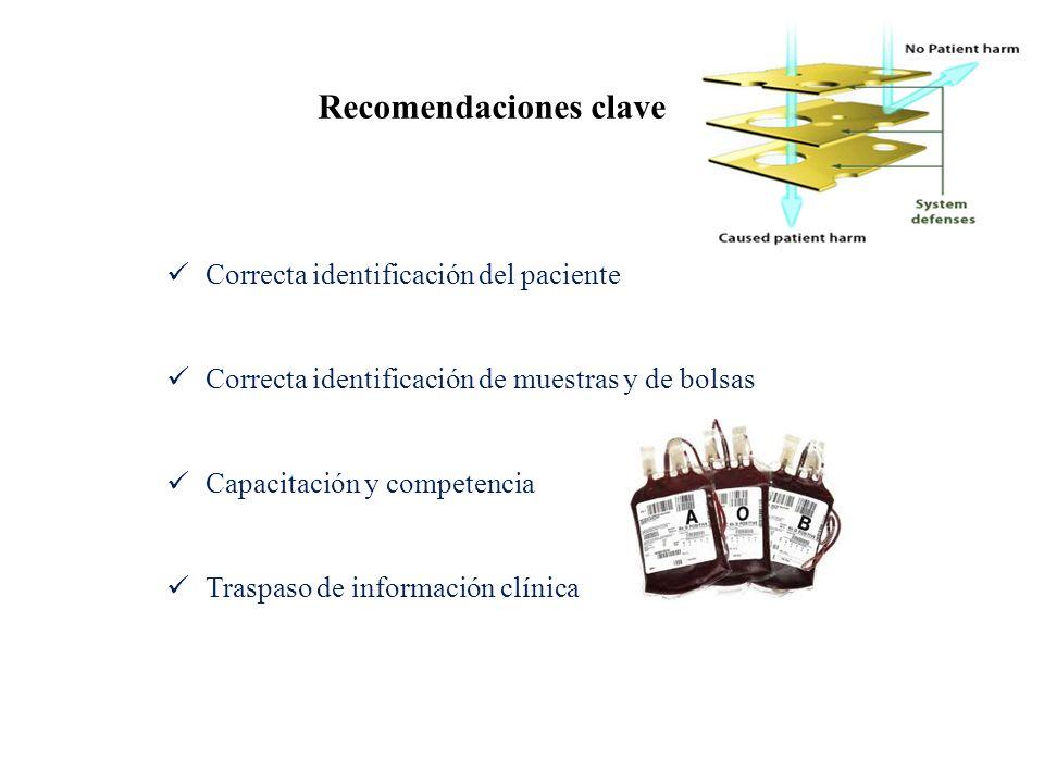 Recomendaciones clave