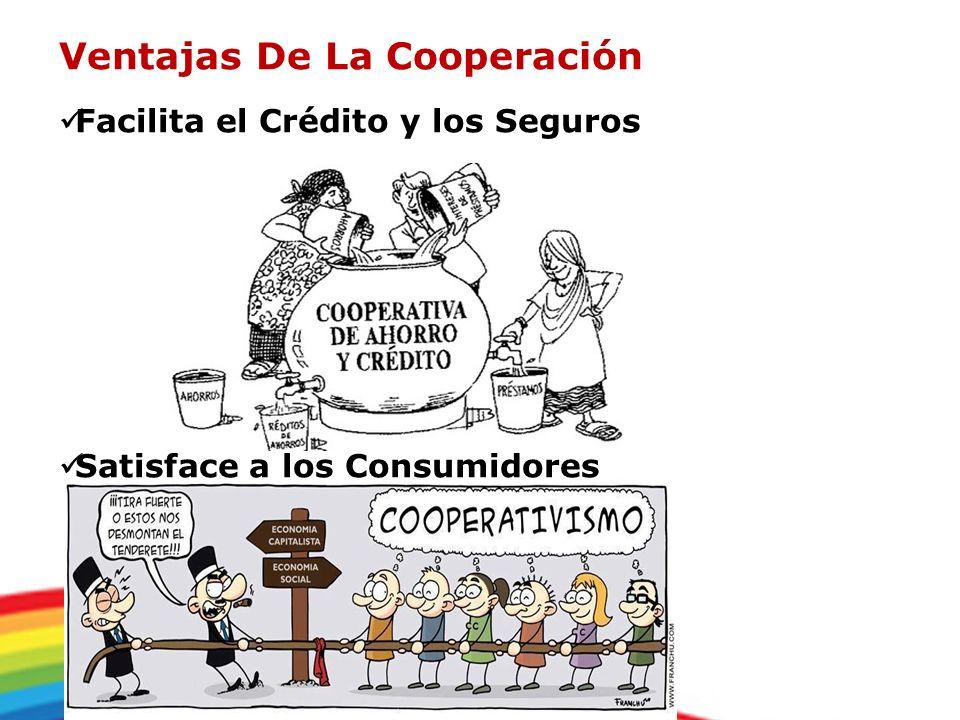 Ventajas De La Cooperación