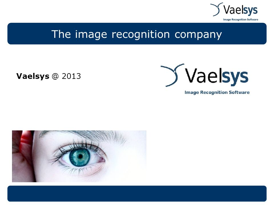 The image recognition company