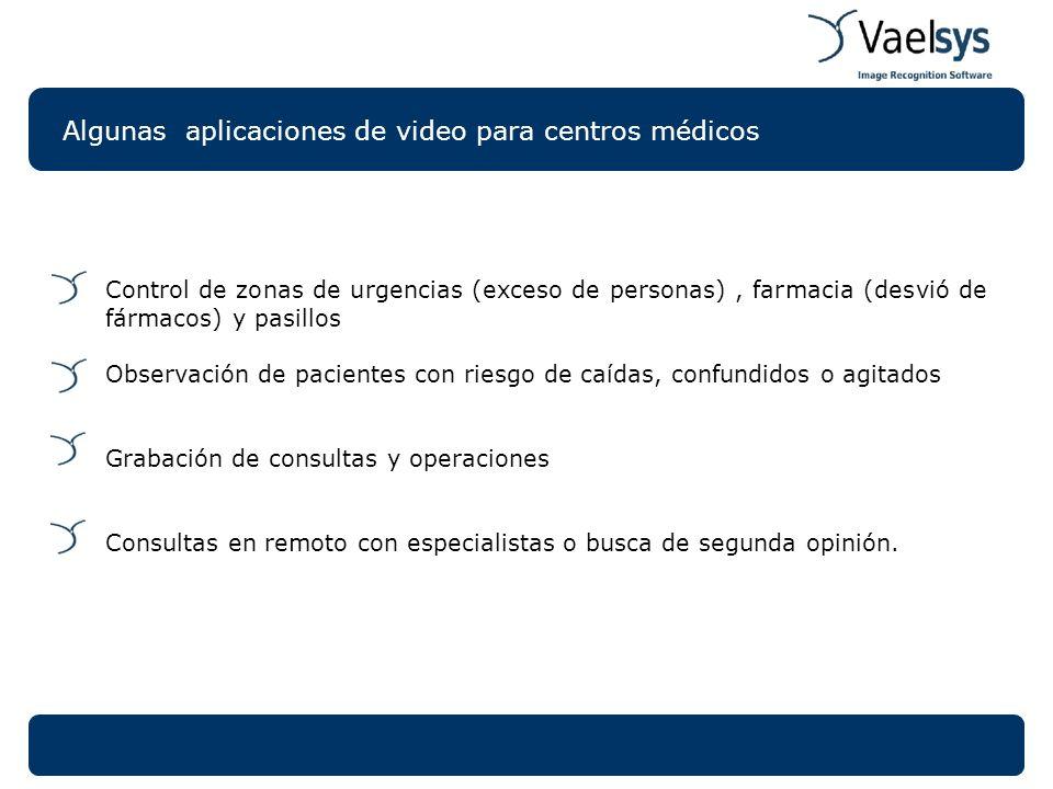 Algunas aplicaciones de video para centros médicos