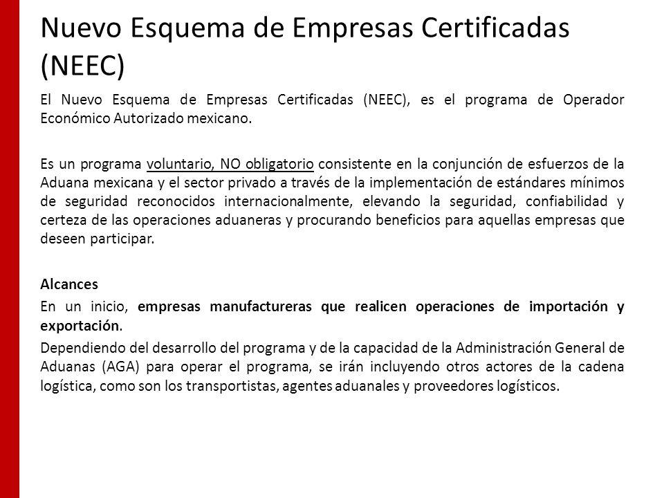 Nuevo Esquema de Empresas Certificadas (NEEC)