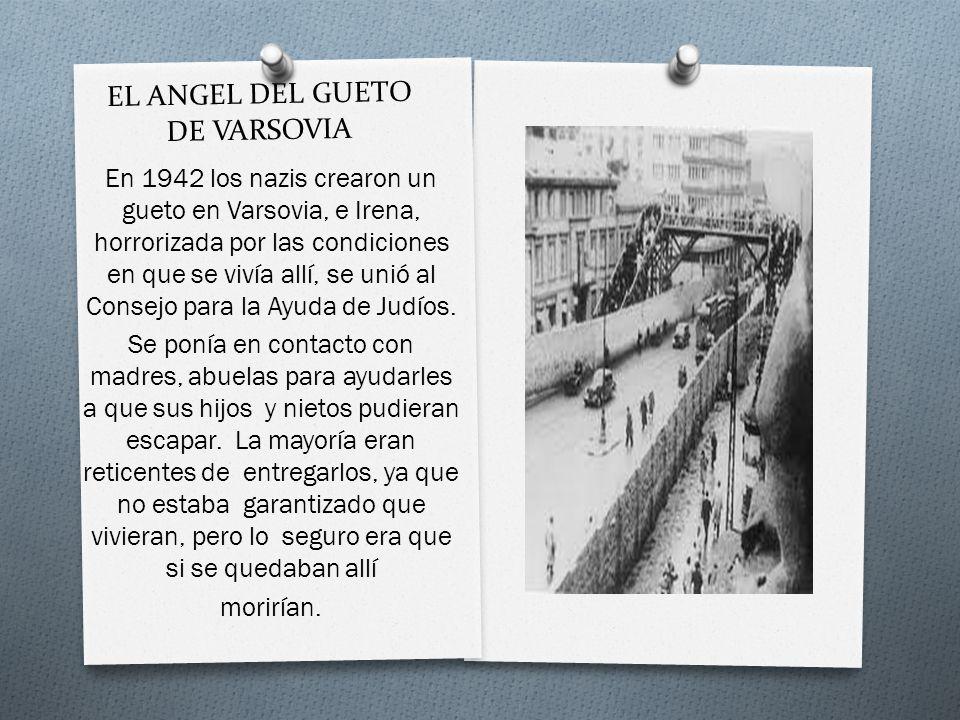 EL ANGEL DEL GUETO DE VARSOVIA