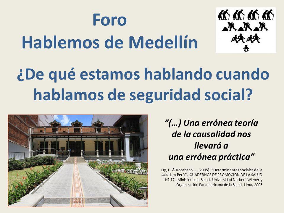 Foro Hablemos de Medellín