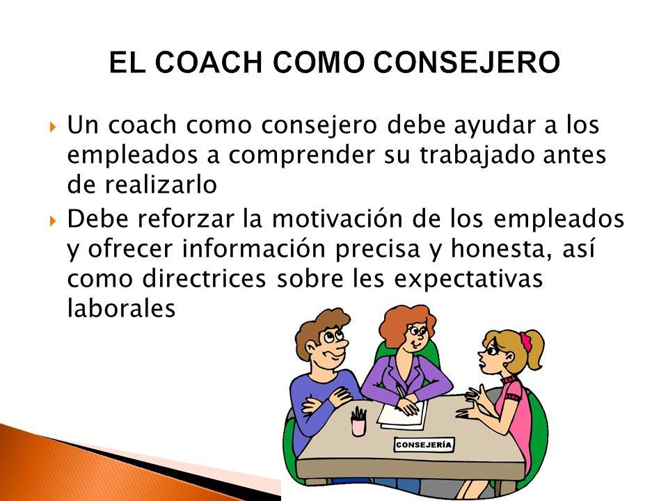EL COACH COMO CONSEJERO