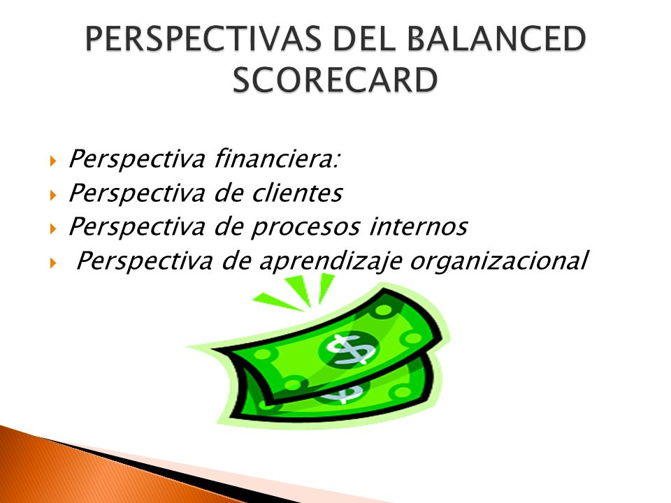 . PERSPECTIVAS DEL BALANCED SCORECARD