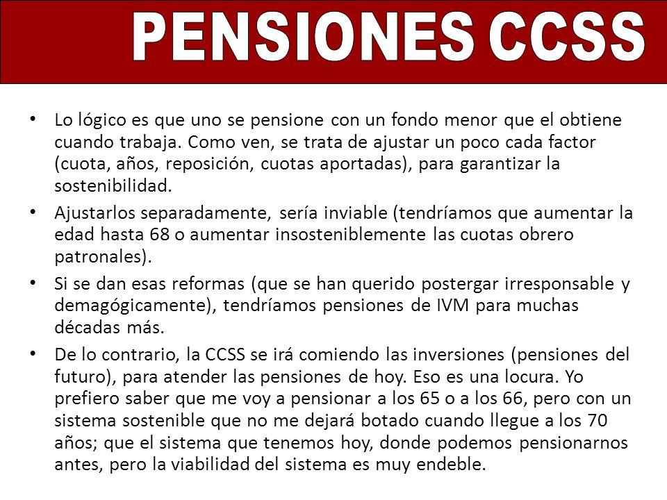 PENSIONES CCSS