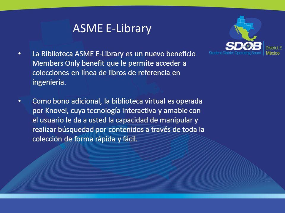 ASME E-Library