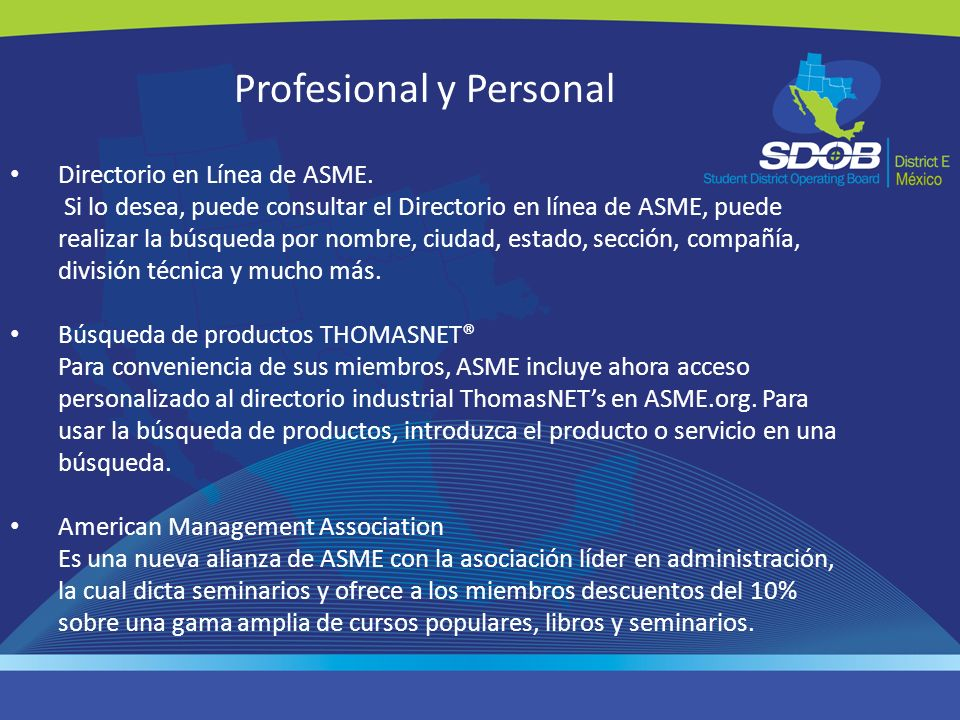 Profesional y Personal