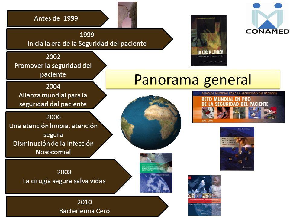 Panorama general Antes de 1999 1999
