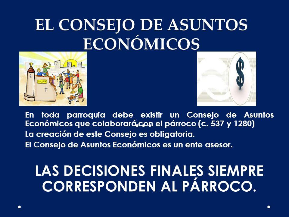 EL CONSEJO DE ASUNTOS ECONÓMICOS