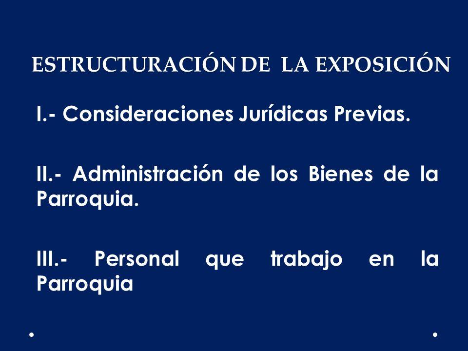 ESTRUCTURACIÓN DE LA EXPOSICIÓN