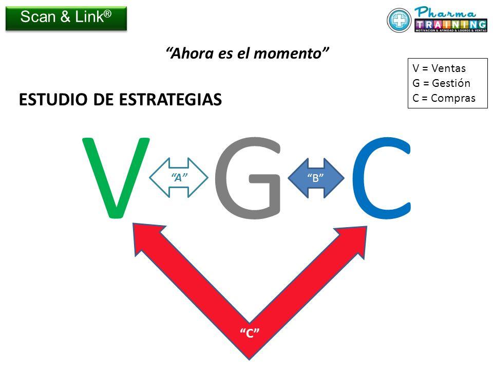 V G C ESTUDIO DE ESTRATEGIAS Ahora es el momento Scan & Link® C