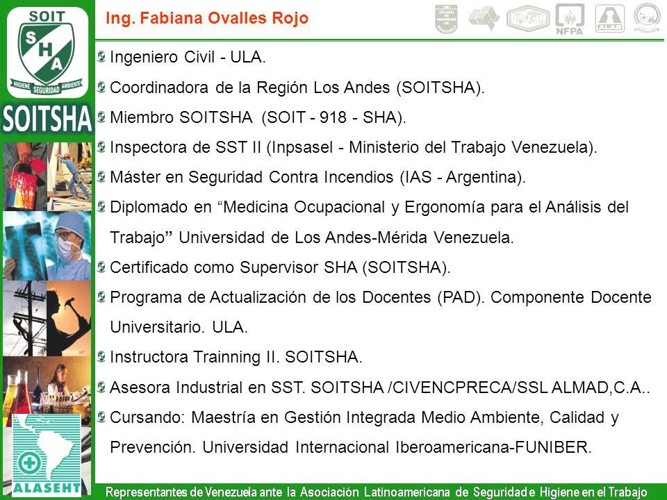Ing. Fabiana Ovalles Rojo