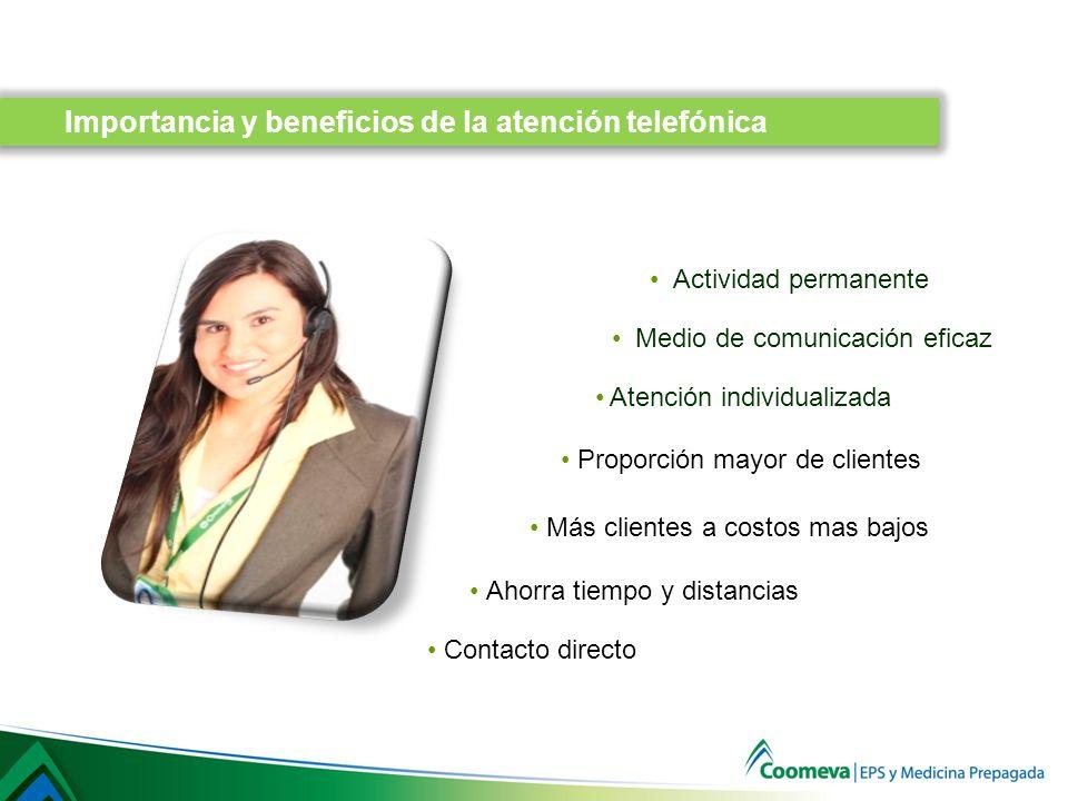 Importancia y beneficios de la atención telefónica