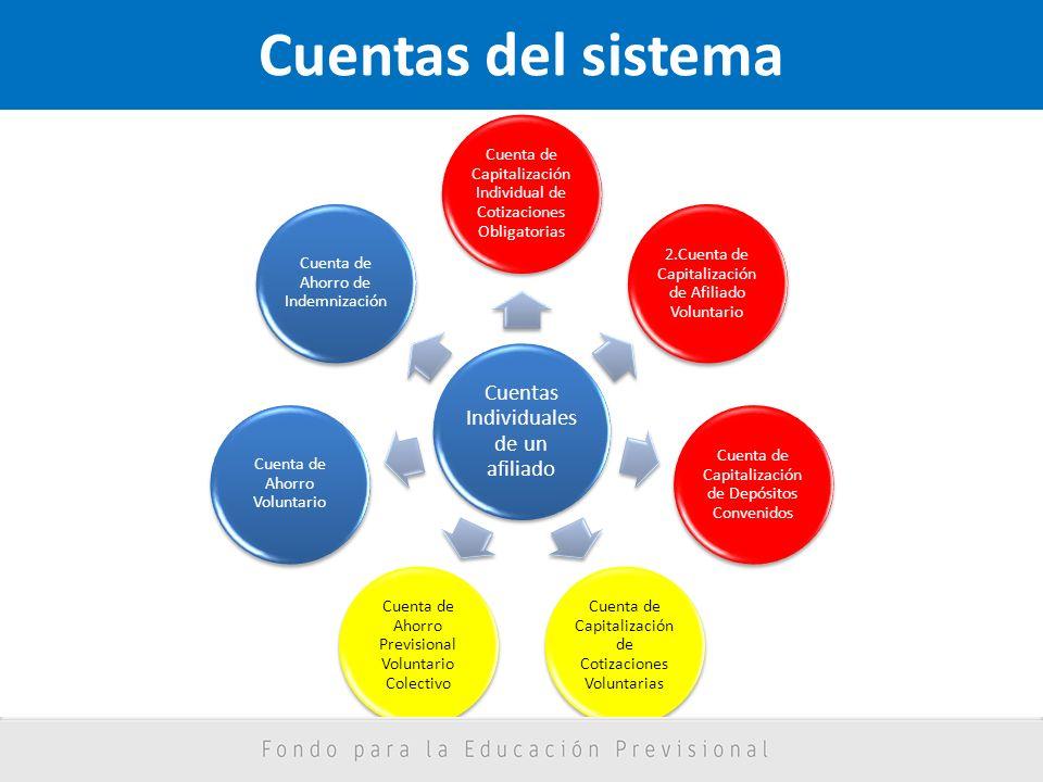 Cuentas del sistema Cuentas Individuales de un afiliado