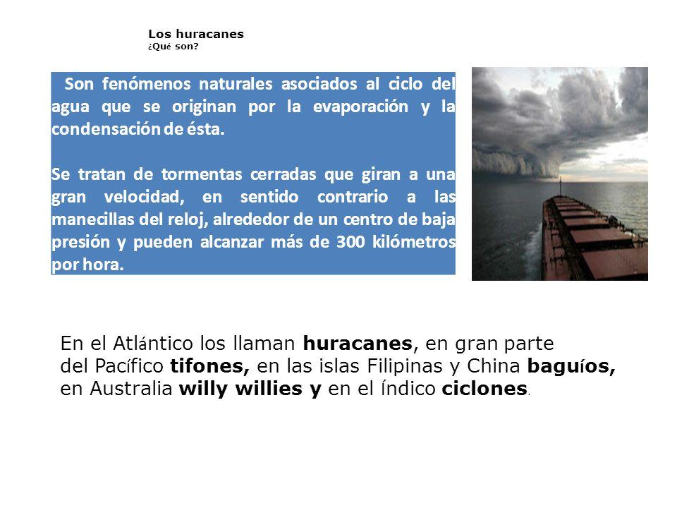 En el Atlántico los llaman huracanes, en gran parte