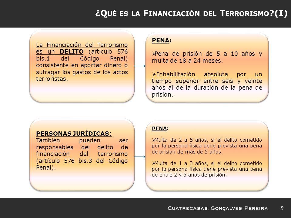 ¿Qué es la Financiación del Terrorismo (I)