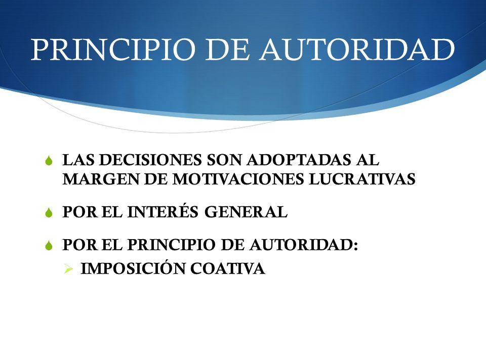 PRINCIPIO DE AUTORIDAD