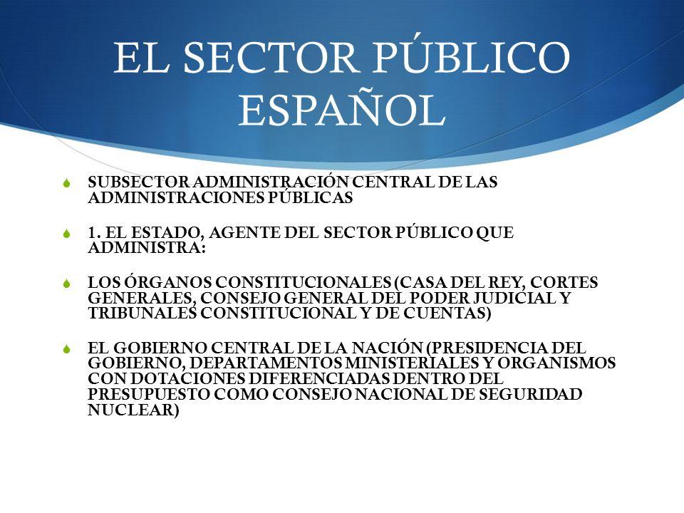 EL SECTOR PÚBLICO ESPAÑOL