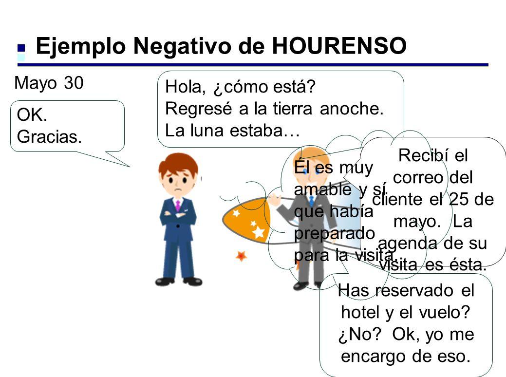 Ejemplo Negativo de HOURENSO