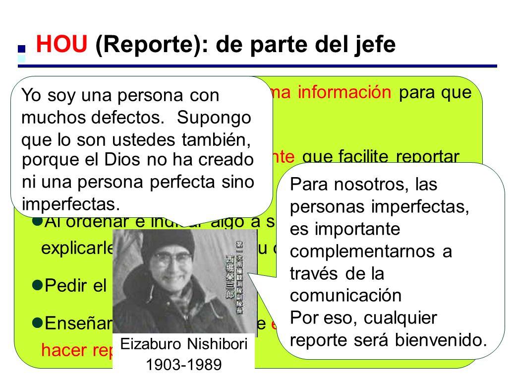HOU (Reporte): de parte del jefe