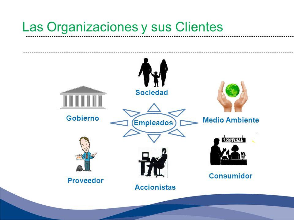Las Organizaciones y sus Clientes