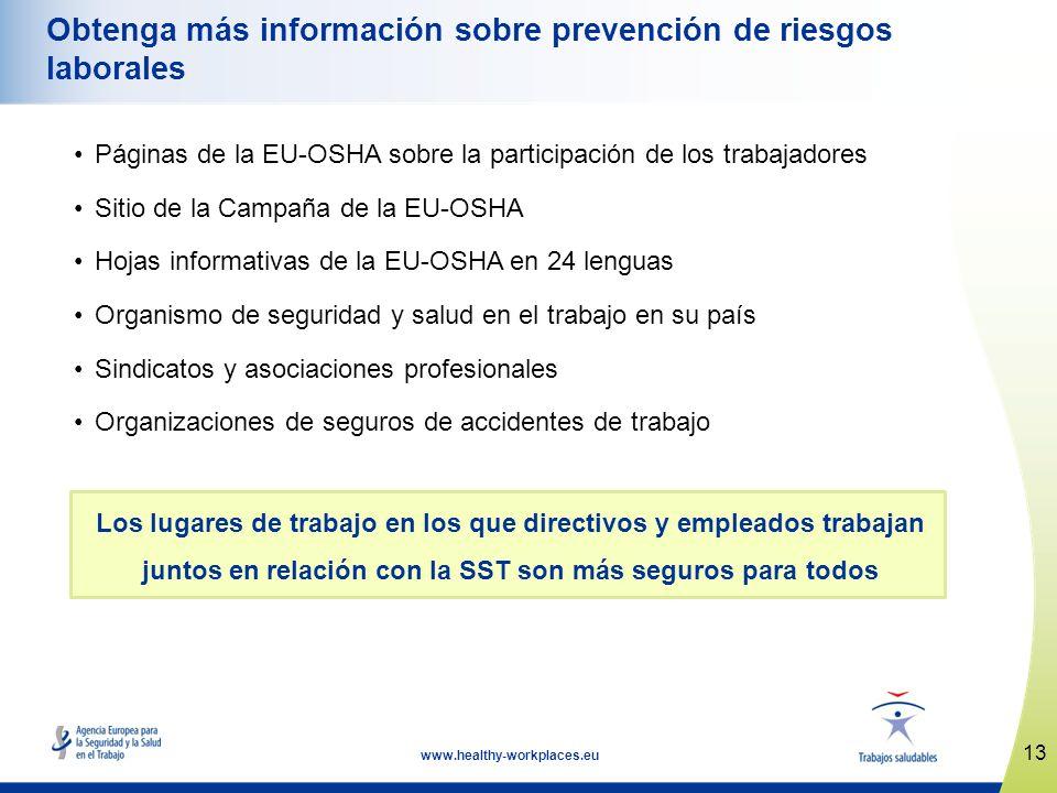 Obtenga más información sobre prevención de riesgos laborales