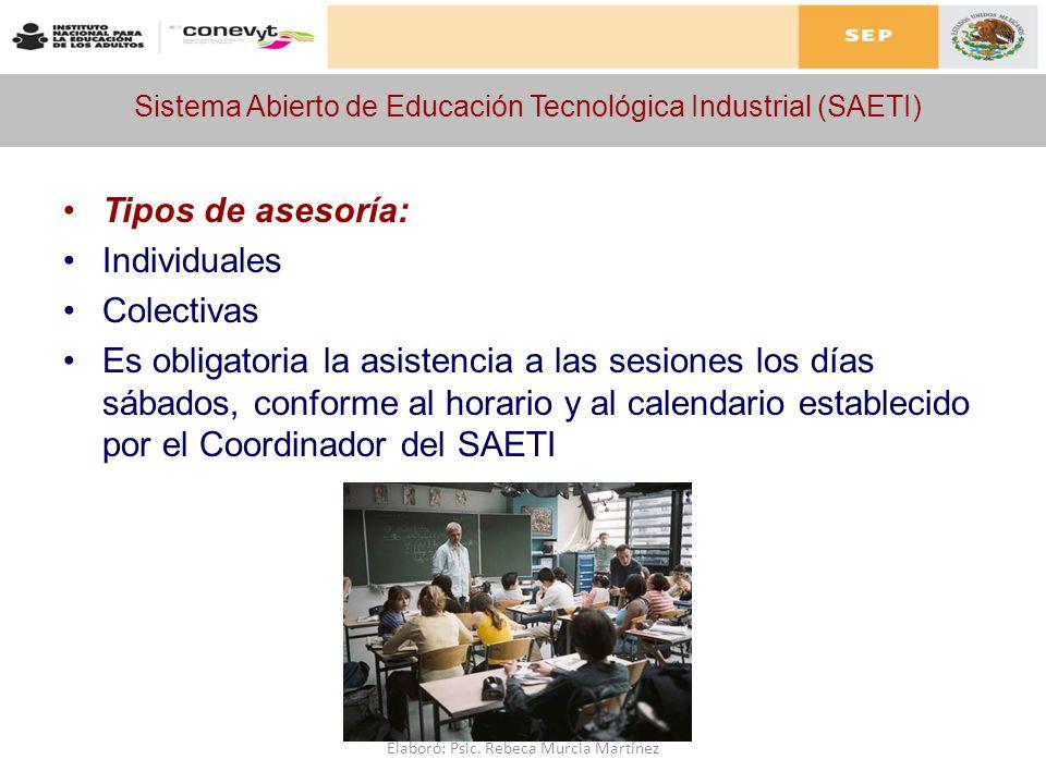 Sistema Abierto de Educación Tecnológica Industrial (SAETI)