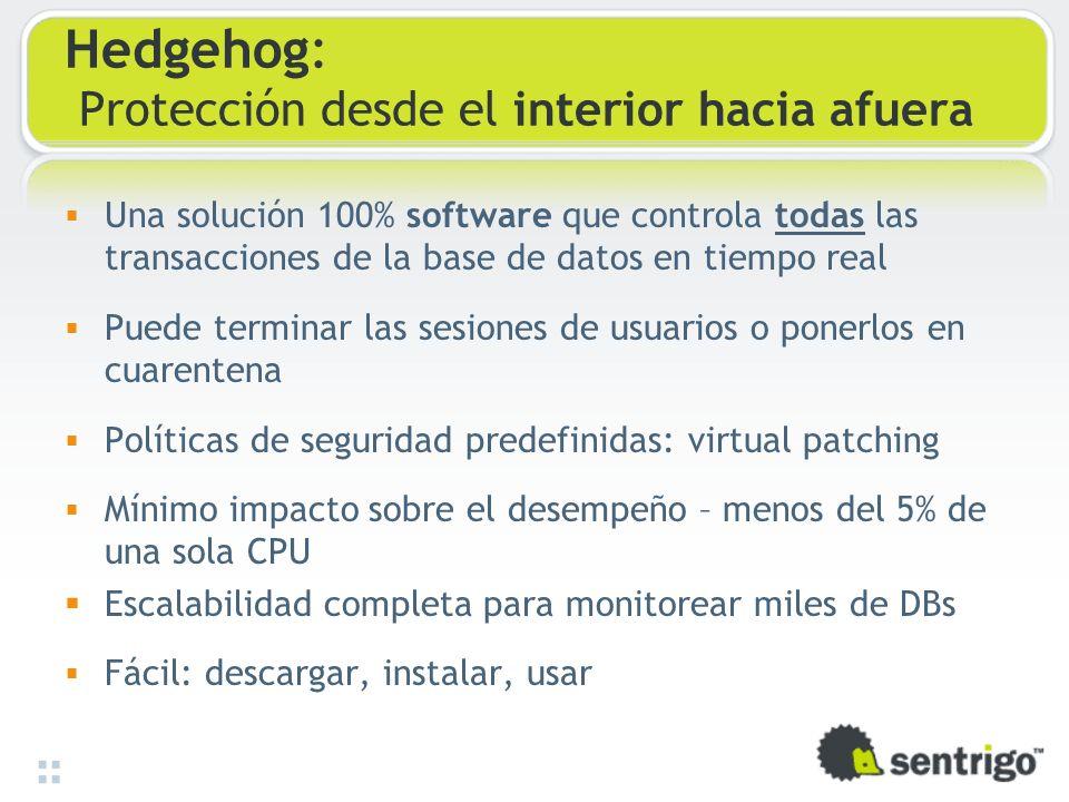 Hedgehog: Protección desde el interior hacia afuera