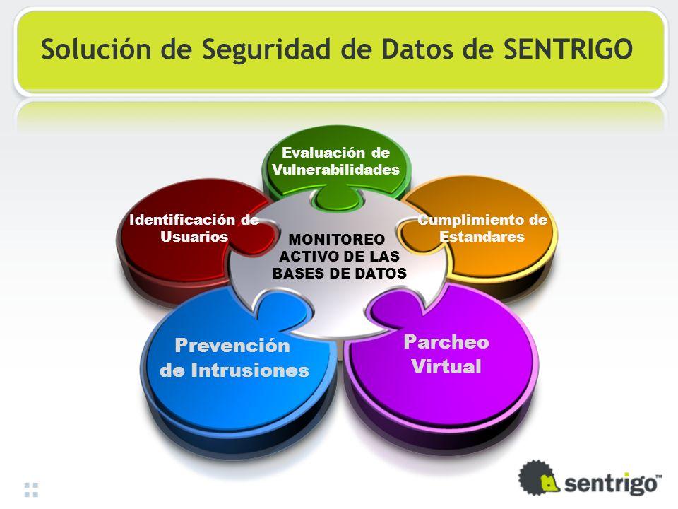 Solución de Seguridad de Datos de SENTRIGO