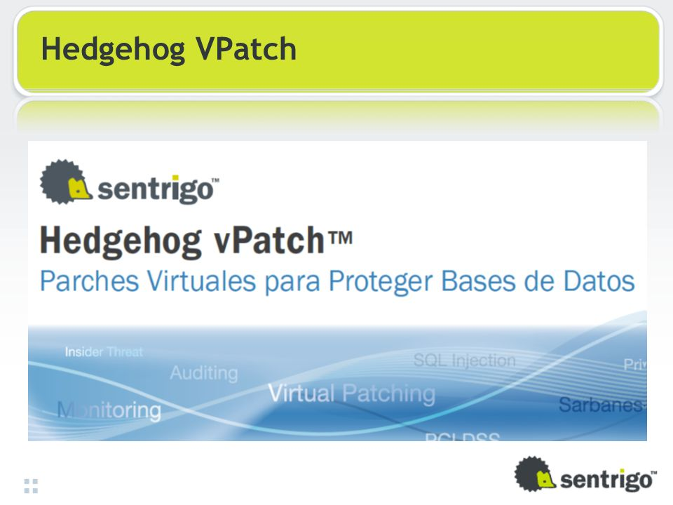 Hedgehog VPatch 33