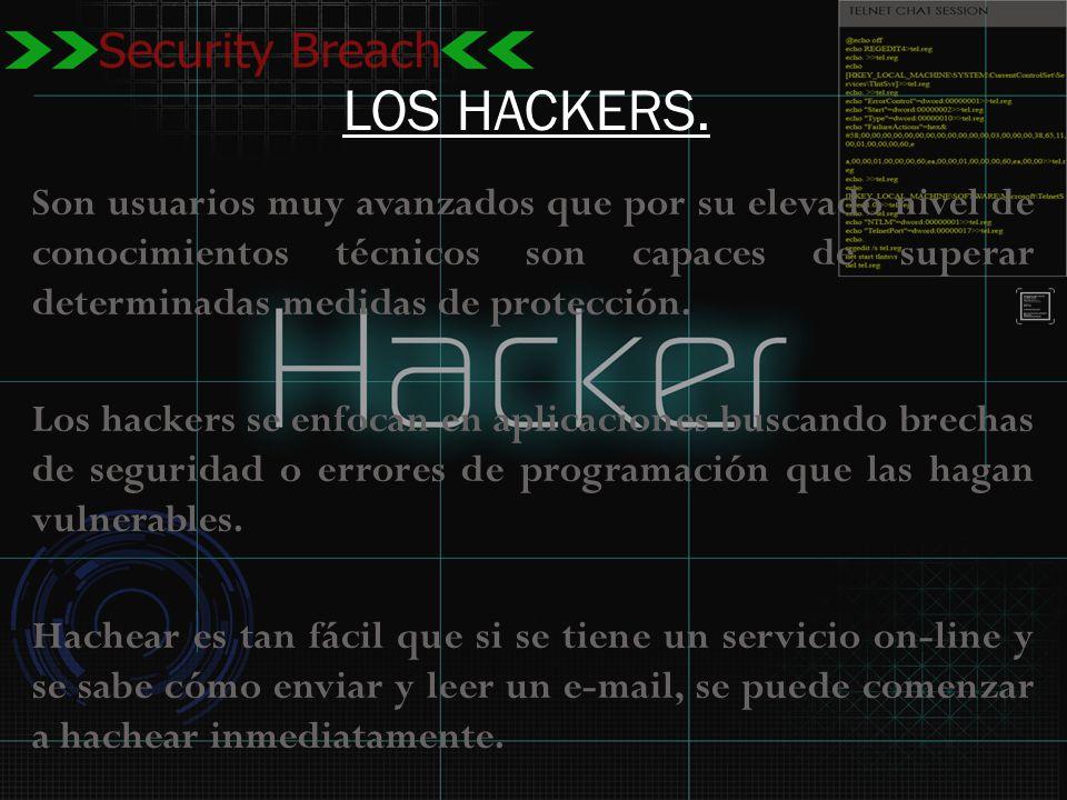 LOS HACKERS.