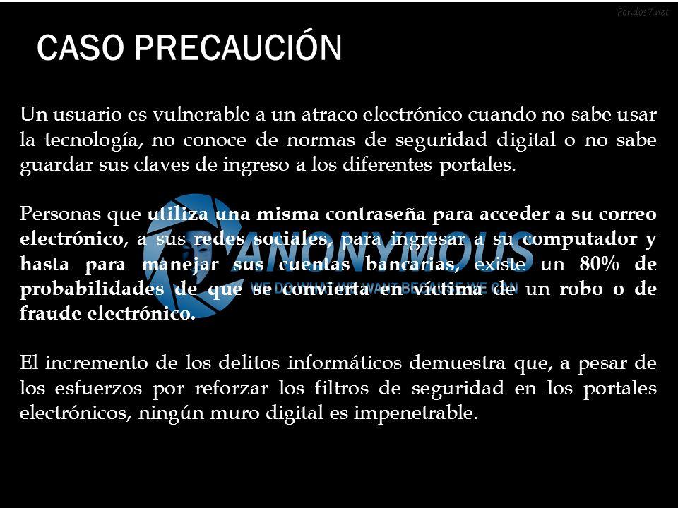 CASO PRECAUCIÓN