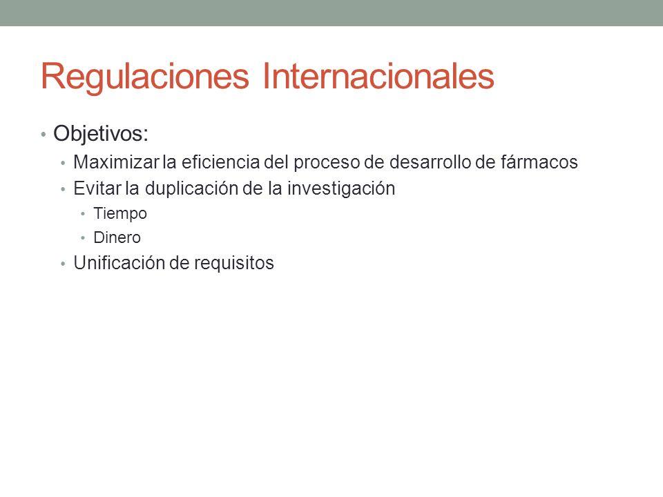 Regulaciones Internacionales