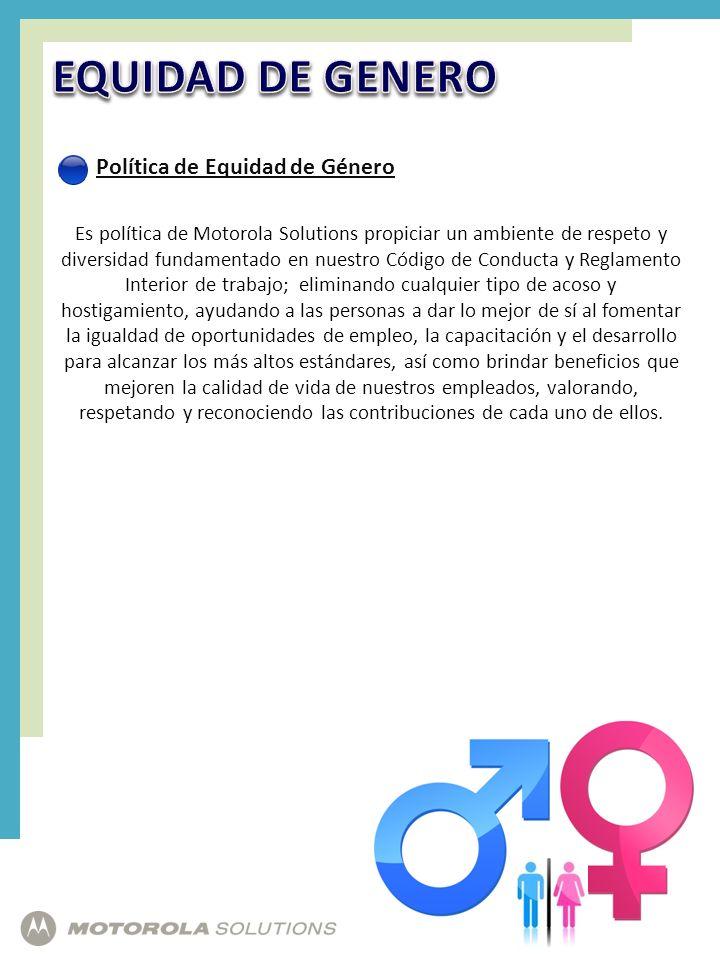 EQUIDAD DE GENERO Política de Equidad de Género