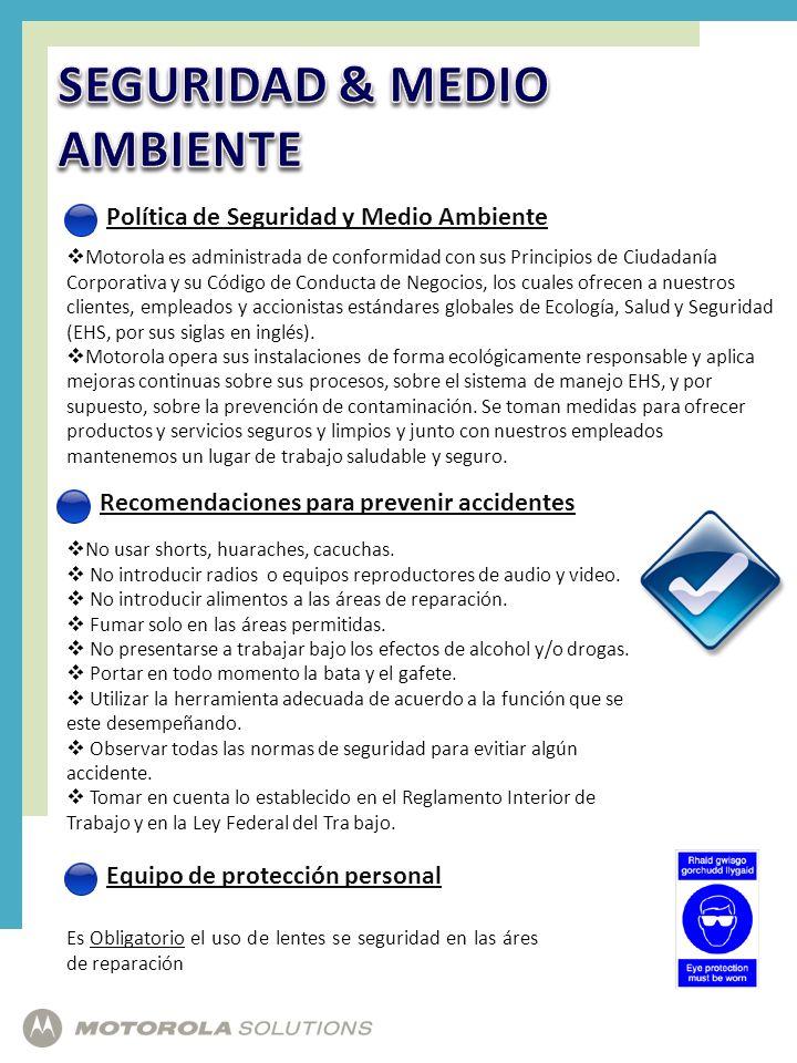 SEGURIDAD & MEDIO AMBIENTE